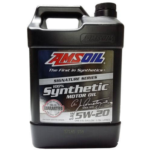Моторное масло AMSOIL Signature Series Synthetic Motor Oil 5W-20 3.784 л