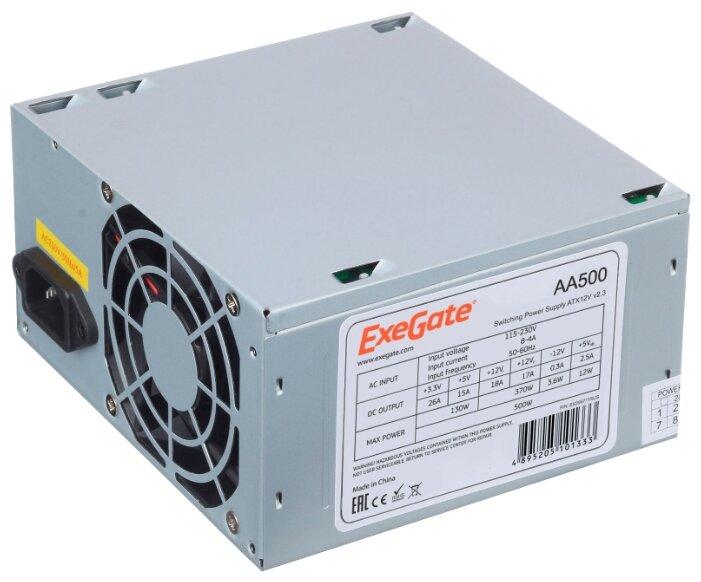 ExeGate Блок питания ExeGate AA500 500W