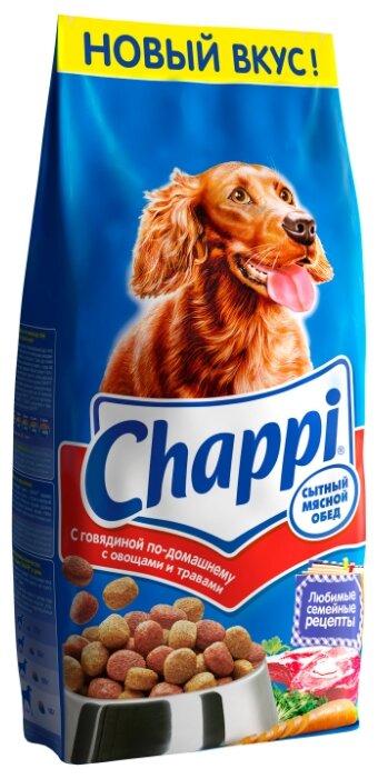 Корм для собак Chappi Сухой корм с Говядиной по-домашнему с овощами и травами