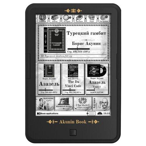 Электронная книга ONYX BOOX C63L Akunin Book 4 ГБ черный