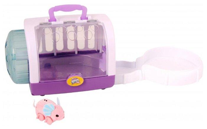 Интерактивная игрушка робот Moose Little Live Pets Мышка в домике 28151