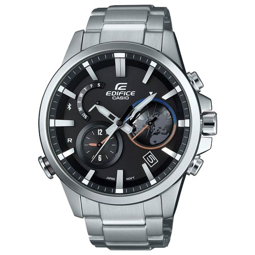 Часы CASIO EDIFICE EQB-600D-1A серебристый casio eqb 700l 1a