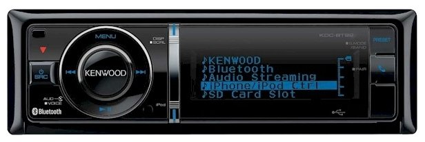 KENWOOD KDC-BT92U