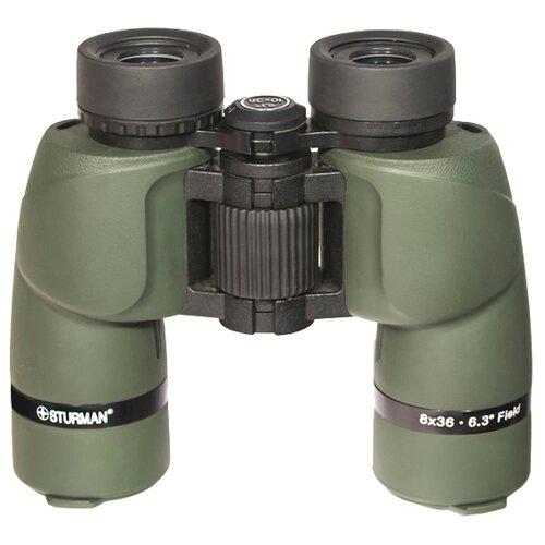Фото - Бинокль Sturman 8x36 зеленый бинокль sturman 16х50