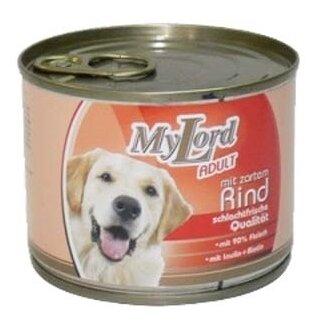 Корм для собак Dr. Alder`s МОЙ ЛОРД ПРЕМИУМ Эдалт говядина рубленое мясо Для взрослых собак