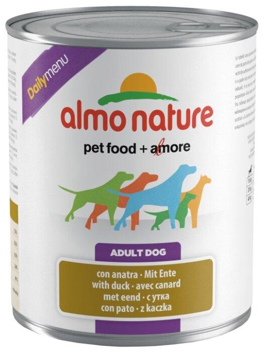 Корм для собак Almo Nature Daily Menu утка
