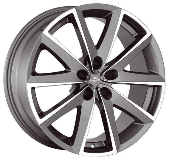 Колесный диск Fondmetal 7600 7.5x17/5x112 D67.1 ET48 Titanium