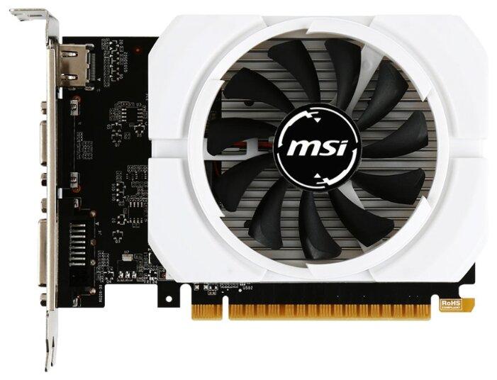 MSI GeForce GT 710 954Mhz PCI-E 2.0 1024Mb 1600Mhz 64 bit DVI HDMI HDCP