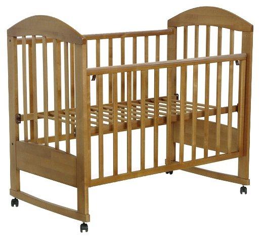 Кроватка Топотушки Дарина-2 (колесо, качалка)