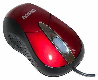 Мышь Dialog MOP-22SU Red-Black USB
