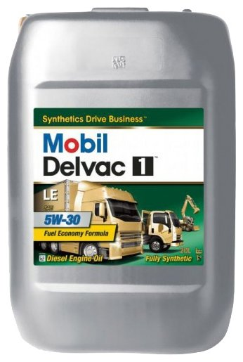 Моторное масло MOBIL 1 Delvac LE 5W-30 20 л