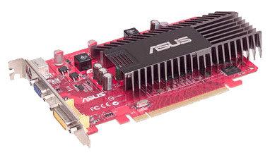 ASUS Radeon HD 3450 600Mhz PCI-E 2.0 512Mb 800Mhz 64 bit DVI TV HDCP YPrPb