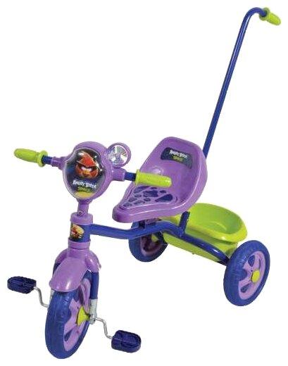 Трехколесный велосипед 1 TOY Т56841 Angry Birds