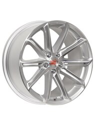 Диски 1000 Miglia MM1007 7,5x17 5x114,3 D67.1 ET40 цвет Silver Gloss Polished - фото 1