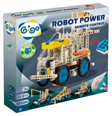 Электромеханический конструктор Gigo Green Energy 7328 Роботы на дистанционном управлении