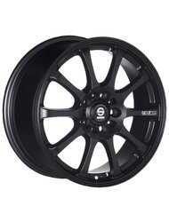 Колесный диск Sparco Drift 8/17 5*100 ET35 DIA63.3 Matt Black - фото 1