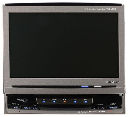 Автомобильный монитор Alpine TMI-M990