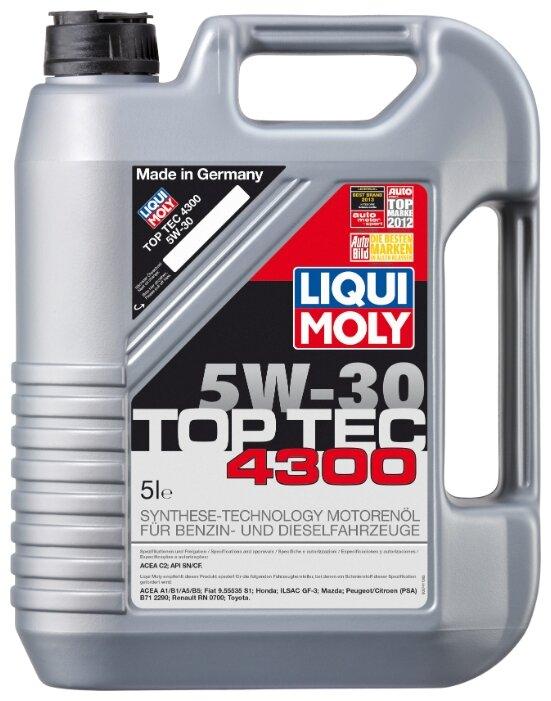 Моторное масло LIQUI MOLY Top Tec 4300 5W-30 5 л