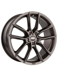 BBS 8,5x18/5x114,3 ET45 D82 XA Black + Diamond Cut - фото 1