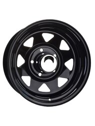 Диск Ikon Wheels MG82 Black 8x17/6x139.7 D110.5 ET0 - фото 1