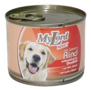 Корм для собак Dr. Alder`s МОЙ ЛОРД ПРЕМИУМ Эдалт говядина рубленое мясо Для взрослых собак (0.195 кг) 1 шт.
