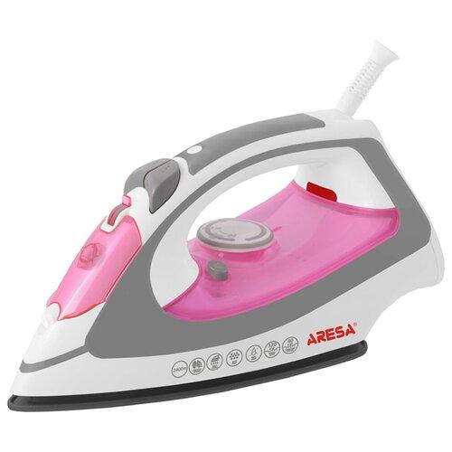Утюг ARESA AR-3106 белый/розовый/серый