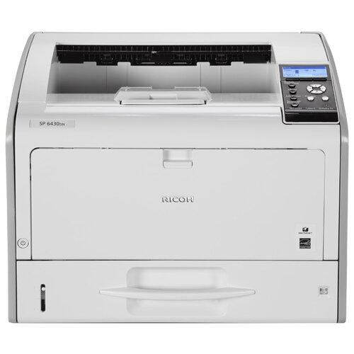 Фото - Принтер Ricoh SP 6430DN, белый принтер лазерный ricoh sp 6430dn светодиодный цвет серый [407484]
