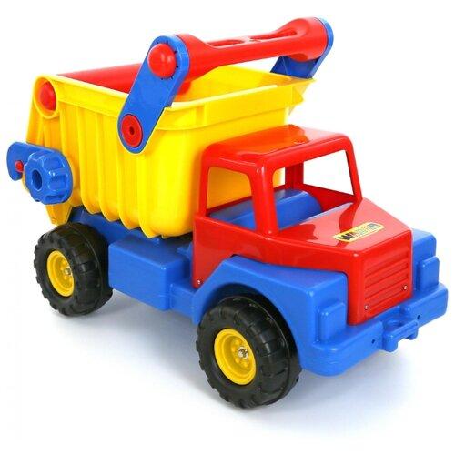 Купить Грузовик Wader 37909 74 см синий/красный/желтый, Машинки и техника