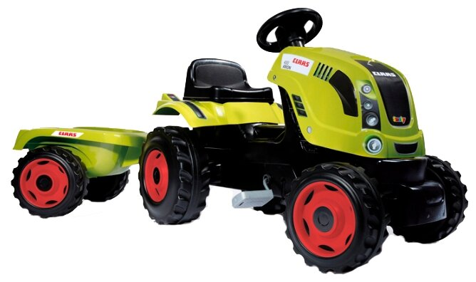 Веломобиль Smoby Трактор XL Claas