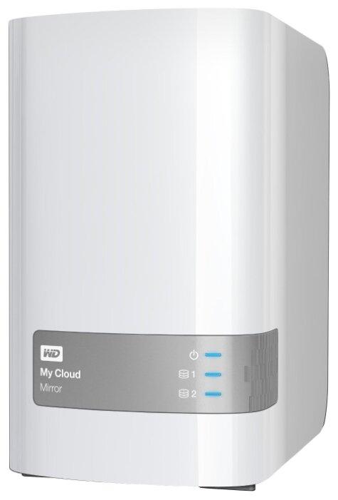 Сетевой накопитель (NAS) Western Digital My Cloud Mirror 4 TB (WDBZVM0040JWT-EESN)