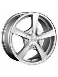 Колесные диски Racing Wheels H-101 5x13/8x98/114.3 D67.1 ET35 Silver - фото 1