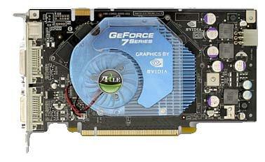 Axle GeForce 7900 GS 450Mhz PCI-E 512Mb 1320Mhz 256 bit 2xDVI TV YPrPb