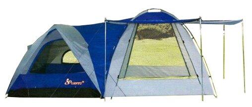 Палатка кемпинговая (480х240х195см) 4 местная LANYU LY-1706 + кухня-шатер