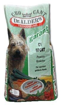 Корм для собак Dr. Alder`s С-1 КРОКАНТ СПОРТ говядина крокеты Для активных собак (6 кг)