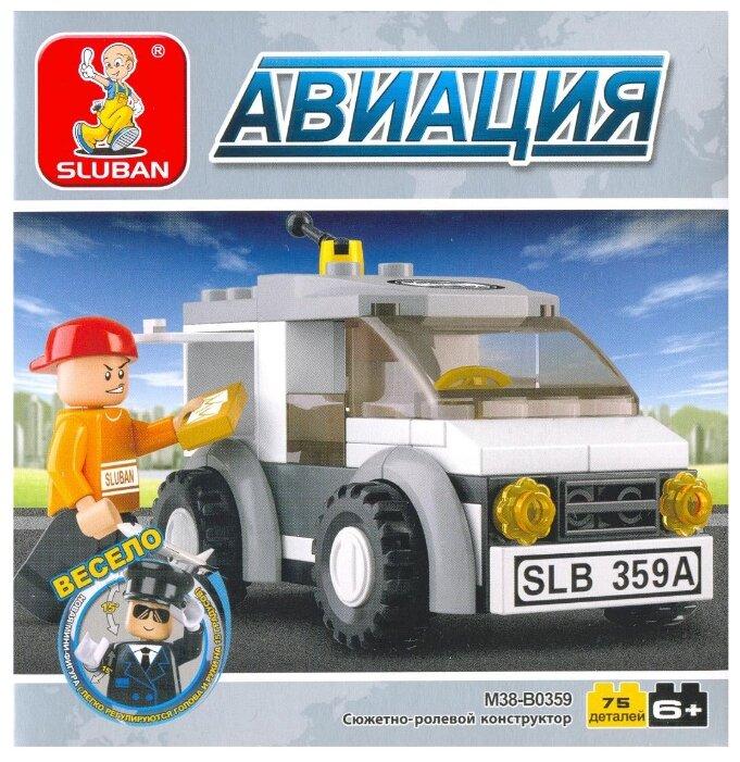 Классический конструктор SLUBAN Авиация M38-B0359