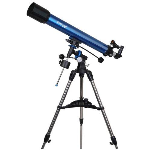 Фото - Телескоп Meade Polaris 90mm синий телескоп с автонаведением meade starnavigator ng 114 мм
