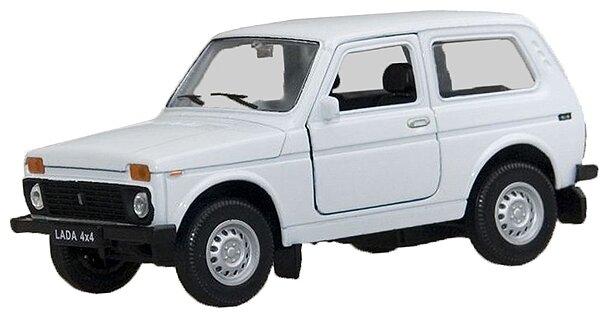 Welly модель машины 1:34-39 Lada 4x4 42386 (синяя)