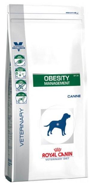 Корм для собак Royal Canin DP34 для здоровья кожи и шерсти, при избыточном весе, для здоровья костей и суставов 13 кг