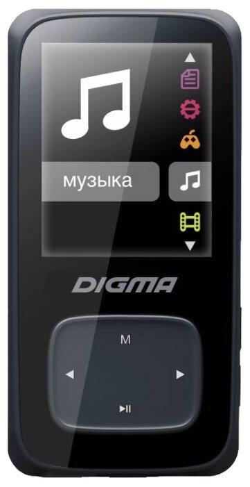 MP3-плеер Digma Cyber 2 8Gb черный
