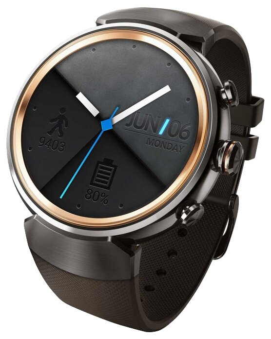 ASUS Часы ASUS ZenWatch 3 (WI503Q) silicone