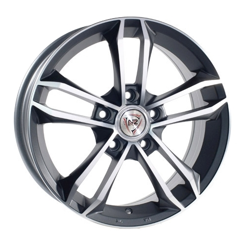 Колесный диск NZ Wheels F-44 7x17/5x114.3 D60.1 ET39 BKF