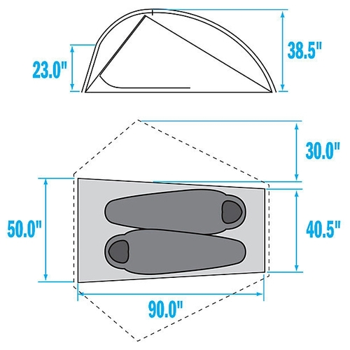 Палатка The North Face Mica FL 2 Tent