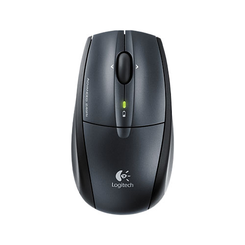 Мышь Logitech RX720 Cordless Laser Mouse Black USB