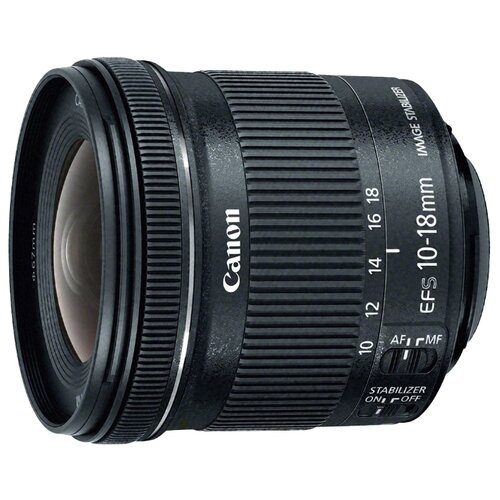Объектив Canon EF-S 10-18mm f/4.5-5.6 IS STM черный