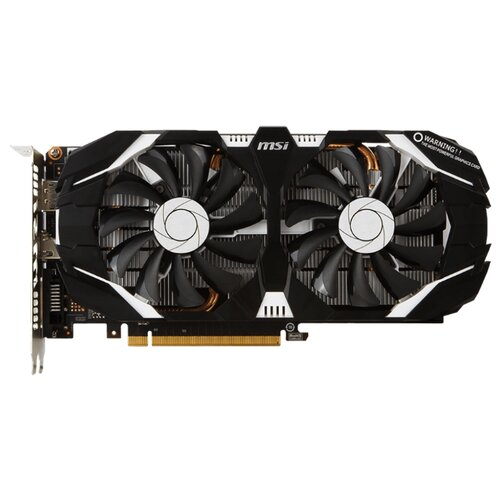 Видеокарта MSI GeForce GTX 1060 1544MHz PCI-E 3.0 3072MB 8008MHz 192 bit DVI HDMI HDCP Retail
