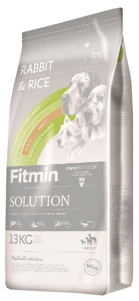 Корм для собак Fitmin Solution Rabbit & Rice (13 кг)