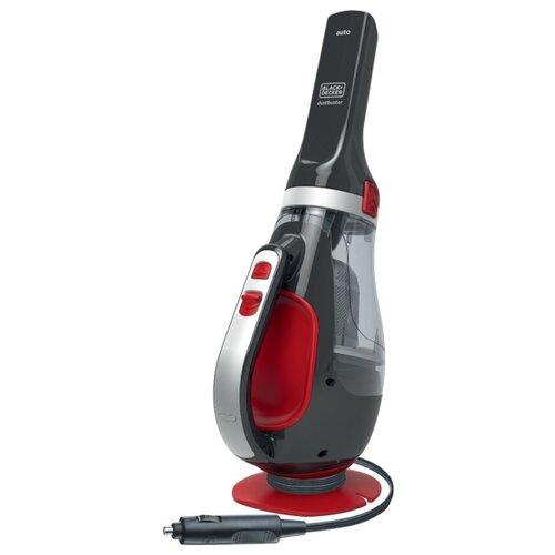 Пылесос автомобильный BLACK+DECKER ADV1200-XK серый/красный