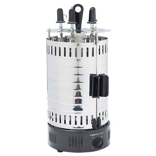 Шашлычница VES electric G-111 черный/серебристый