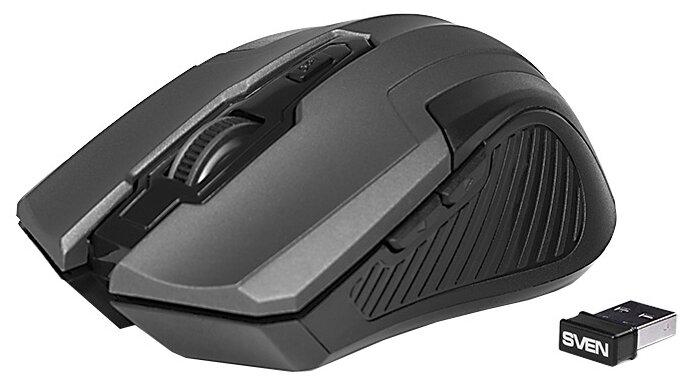 Мышь беспроводная Sven RX-355 Wireless grey серый USB