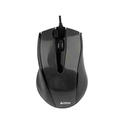 Мышь A4Tech N-500F Black USB мышь a4tech n 360 2 black red